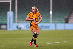 Abi Burton of Wasps FC Ladies - Mandatory by-line: Nick Browning/JMP - 24/10/2020 - RUGBY - Sixways Stadium - Worcester, England - Worcester Warriors Women v Wasps FC Ladies - Allianz Premier 15s