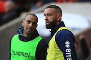 Aaron Wilbraham during the EFL Sky Bet League 1 match between Charlton Athletic and Rochdale at The Valley, London, England on 4 May 2019.