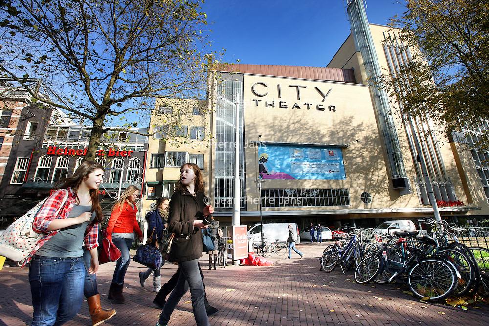 Nederland, Amsterdam , 15 november 2010..City-bioscoop na de verbouwing aan het Amsterdamse Leidseplein...Foto:Jean-Pierre Jans