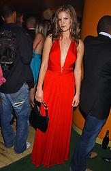 KATE SUMNER at a fashion show by ISSA held at Cocoon, 65 Regent Street, London on 21st September 2005.<br /><br />NON EXCLUSIVE - WORLD RIGHTS