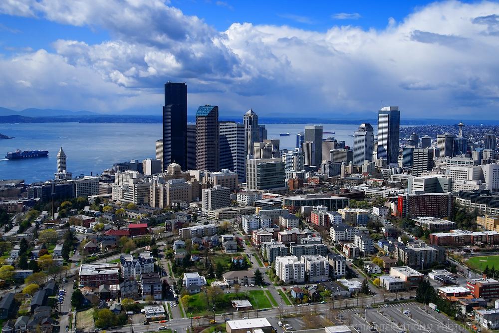 Seattle Skyline & First Hill