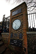 Shepherd Gate Clock at Greenwich Observatory, featuring a 24 hour dial.