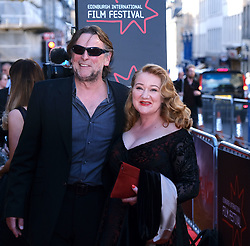 Edinburgh International Film Festival 2019<br /> <br /> Boyz In The Wood (European Premiere)<br /> <br /> Stars and guests arrive on the red carpet<br /> <br /> Pictured: Kathryn Howden <br /> <br /> Alex Todd   Edinburgh Elite media