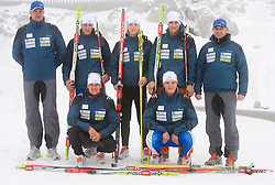 Slovenian Young Biathlon Team at Dachstein glacier before new season 2008/2009, Austria, on October 30, 2008.  (Photo by Vid Ponikvar / Sportida)