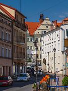 Centrum miasta, Duszniki-Zdrój, Polska<br /> Centre, Duszniki-Zdrój, Poland