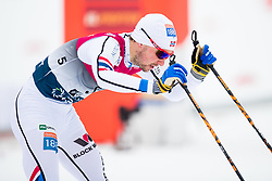 March 10, 2018 - Oslo, NORWAY - 180310 Jan Schmid of Norway in the finish area after the Nordic Combined 10 km Gundersen on March 10, 2018 in Oslo..Photo: Jon Olav Nesvold / BILDBYRN / kod JE / 160213 (Credit Image: © Jon Olav Nesvold/Bildbyran via ZUMA Press)