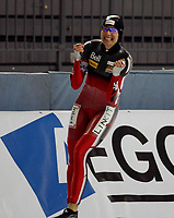 Skøyter , Ladies 1500m , <br /> -essent isu World cup speed skating <br /> Vikingskipet , Hamar,Hamar Olympic Hall , Norway<br /> 22.11.2009<br /> <br /> Foto: Dagfinn Limoseth, Digitalsport<br /> Kristina Groves , CAN