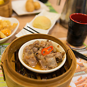 Steamed spareribs with black bean sauce in Tim Ho Wan, Hong Kong