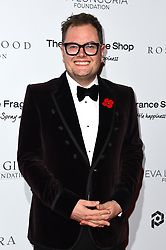 Alan Carr attending the 9th Annual Global Gift Gala held at the Rosewood Hotel, London. Picture date: Friday November 2nd 2018. Photo credit should read: Matt Crossick/ EMPICS Entertainment.