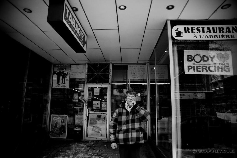 Racine(s), 20 histoires de la rue principale de Chicoutimi, Québec Canada 2010. www.projetracines.com