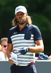 May 25, 2017 - Virginia Water, United Kingdom - Johan Carlsson of SWE.during 1st Round for the 2017 BMW PGA Championship on the west Course at Wentworth on May 25, 2017 in Virginia Water,England  (Credit Image: © Kieran Galvin/NurPhoto via ZUMA Press)