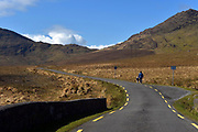 A woman and her child take a stroll along ther wilderness road at Ballaghisheen Pass in County Kerry this week.<br /> Picture by Don MacMonagle -macmonagle.com