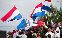 BERKEL EN RODENRIJS  (Neth) - HOCKEY - RABO SUPER SERIE  <br /> friendly match :The Netherlands v  New Zealand (w).  Nederland supporters.     COPYRIGHT KOEN SUYK