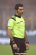 The referee Fabio Maresca during the Serie A match at Giuseppe Meazza, Milan. Picture date: 9th February 2020. Picture credit should read: Jonathan Moscrop/Sportimage