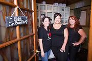 Chava Pelo Salon owner Bobbie Chavarria, right, and associates pose for a portrait at Chava Pelo Salon in Milpitas, California, on July 16, 2014. (Stan Olszewski/SOSKIphoto)
