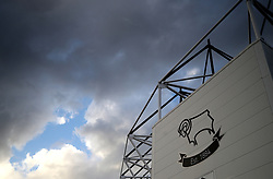 A general view of Pride Park