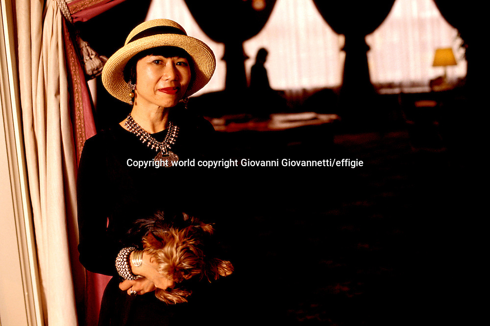 Amy Tan<br />world copyright Giovanni Giovannetti/effigie / Writer Pictures<br /> <br /> NO ITALY, NO AGENCY SALES / Writer Pictures<br /> <br /> NO ITALY, NO AGENCY SALES