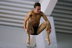 Tom Daley of Dive London Aquatic Centre competes in the Mens 10m Platform Preliminary - Photo mandatory by-line: Rogan Thomson/JMP - 07966 386802 - 22/02/2015 - SPORT - DIVING - Plymouth Life Centre, England - Day 3 - British Gas Diving Championships 2015.
