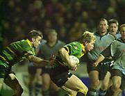 Northampton, Northamptonshire,  7th December 2002, [Mandatory Credit: Peter Spurrier/Intersport Images],Heineken European Cup - Franklin Gardens - Northampton vs Cardiff<br /> Mark Tucker