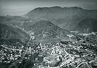 1923 Looking north at Cahuenga Pass