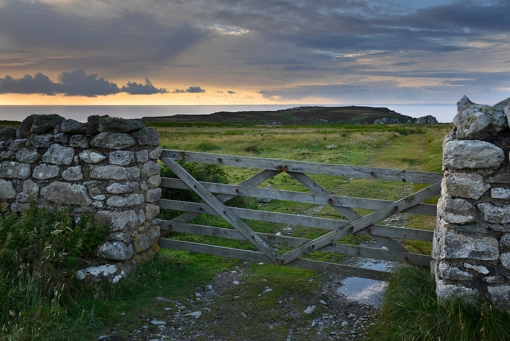 Footpath from the North End of Lundy Island looking south