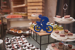Snacks in the foyer at The UCI Cycling Gala 2018 in Guilin, China on October 21, 2018. Photo by Sean Robinson/velofocus.com