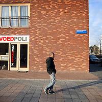 Nederland, Amsterdam , 22 november 2011.. De gevel van de Opvoedpoli op locatie in Amsterdam Zuid Oost aan de Bijlmerdreef. .Foto:Jean-Pierre Jans