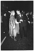 ALEXANDRA HESELTINE; JEREMY DRAX, Bond St. Tercenteneray Ball, 5 June 1986.<br /> <br /> SUPPLIED FOR ONE-TIME USE ONLY> DO NOT ARCHIVE. © Copyright Photograph by Dafydd Jones 248 Clapham Rd.  London SW90PZ Tel 020 7820 0771 www.dafjones.com