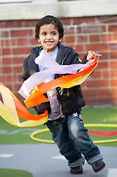 Children in the playground, primary school,