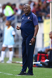 Dan Malesela, Head Coach, of Chippa United during the 1st leg of the MTN8 Semi Final between Chippa United and Mamelodi Sundowns held at the Nelson Mandela Bay Stadium in Port Elizabeth, South Africa on the 11th September 2016<br /><br />Photo by: Richard Huggard / Real Time Images