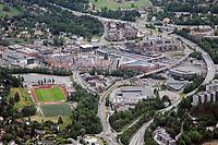 Føyka anlegget i Asker fotografert fra luften i juni 2008. Asker stadion / Asker sentrum. Flyfoto. Aerial photo. Norway.<br /> <br /> 9. juni 2008. Foto: Peter Tubaas/Digitalsport<br /> <br /> Arena Stadion Stadium Flyfoto Aerial photo Norway