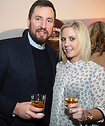John Molloy, Territory Sales Developer, Irish Distillers Pernod Ricardand Aislinn O'Driscoll House Hotel at the  Jameson The Black Barrel Craft Series  at Old printing works, Market Street with music by Corner boy.  Photo:Andrew Downes