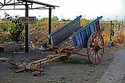 India, Maharashtra, Pune painted wagon