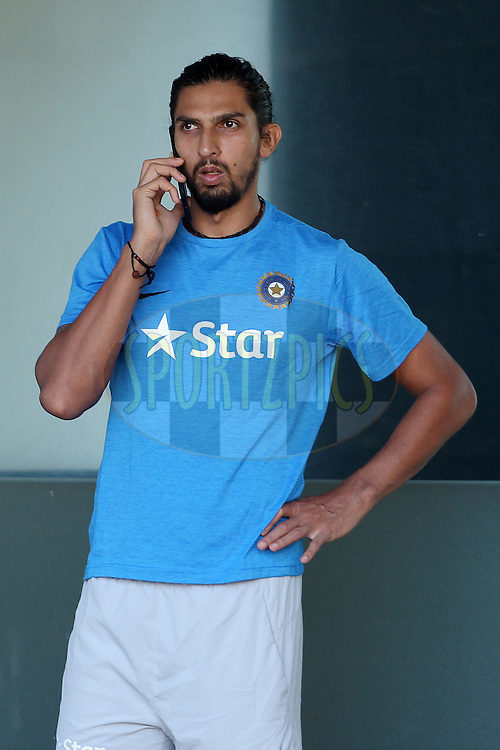 Ishant Sharma of India during the India and England nets sessions held prior to the start of the 5th test match between India and England in Chennai held at the M. A. Chidambaram Stadium on the 15th December 2016.<br /> <br /> Photo by: Ron Gaunt/ BCCI/ SPORTZPICS