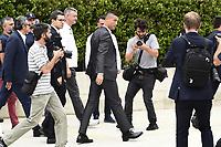 Cristiano Ronaldo<br /> Torino 16-07-2018 Cristiano Ronaldo arrives for mediacal visits at J Medical <br /> foto Daniele Buffa/Image Sport/Insidefoto