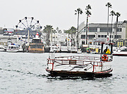 Newport Beach Harbor In The Rain
