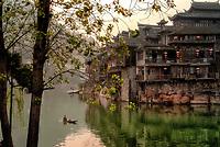 Tuojiang River, Fenghuang, Hunan, China