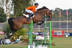 Bonhof Kars, NED, Zentos<br /> European Championship Children, Juniors, Young Riders - Fontainebleau 1028<br /> © Hippo Foto - Dirk Caremans<br /> Bonhof Kars, NED, Zentos