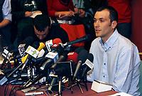Sykkel<br /> Foto: imago/Digitalsport<br /> NORWAY ONLY<br /> <br /> 08.05.2007 <br /> <br /> Ivan Basso (Italien) steht aufgrund seiner Verwicklung in die Dopingaffäre Puerto im Mittelpunkt des Medieninteresses