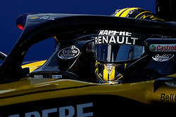 October 21, 2018 - Austin, TX, U.S. - AUSTIN, TX - OCTOBER 21: Renault driver Nico Hulkenberg (27) of Germany waits to drive onto the COTA track prior to the F1 United States Grand Prix on October 21, 2018, at Circuit of the Americas in Austin, TX. (Photo by John Crouch/Icon Sportswire) (Credit Image: © John Crouch/Icon SMI via ZUMA Press)