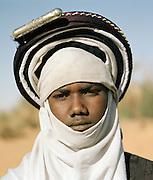 Portrait of a Tuareg Tribesman, Sahara Desert, Libya