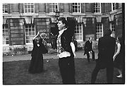 Justin Hardy, Christchurch Commen Ball. Oxford, June 1987