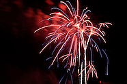 2011 - Fireworks at the Cityfolk Festival in Dayton, Ohio