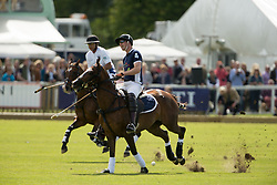 The Duke of Cambridge during the Maserati Royal Charity Polo Trophy at Beaufort Polo Club in Tetbury, Gloucestershire.
