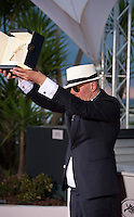 Director Jacques Audiard winner of the Palme d'or for the film Dheepan at the Palm D'Or award winners photo call at the 68th Cannes Film Festival Sunday May 24th 2015, Cannes, France.