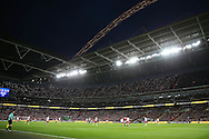 a general view of the match.EFL Cup Final 2017, Manchester Utd v Southampton at Wembley Stadium in London on Sunday 26th February 2017. pic by Andrew Orchard, Andrew Orchard sports photography.
