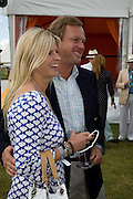MARQUIS AND MARCHIONESS OF MILFORD HAVEN, 2008 Veuve Clicquot Gold Cup Polo final at Cowdray Park. Midhurst. 20 July 2008 *** Local Caption *** -DO NOT ARCHIVE-© Copyright Photograph by Dafydd Jones. 248 Clapham Rd. London SW9 0PZ. Tel 0207 820 0771. www.dafjones.com.