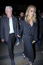 November 30, 2017 - Madrid, Spain - US actor Richard Gere and his Spanish girlfriend Alejandra Silva arrive for the Harper's Bazaar Attitude 43 Awards at the Casino in Madrid, Spain, 30 November 2017. (Credit Image: © Oscar Gonzalez/NurPhoto via ZUMA Press)