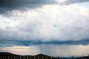 Igarape_MG, Brasil...Chuva vista na beira da BR 381...The rain view from BR 381...Foto: LEO DRUMOND / NITRO
