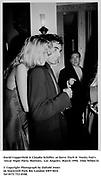 David Copperfield & Claudia Schiffer  at Steve Tisch &  Vanity Fair's Oscar Night Party,<br />Mortons,  Los Angeles. March 1994.  Film 94564/14<br /> <br />© Copyright Photograph by Dafydd Jones<br />66 Stockwell Park Rd. London SW9 0DA<br />Tel 0171 733 0108.